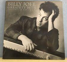 BILLY JOEL Greatest Hits Volume I & II 1985 Vinyl LP EXCELLENT CONDITION best c