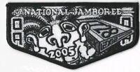 Boy Scout 2005 National Jamboree OA Flap Twelve Cubed