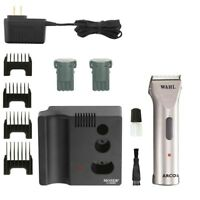 Wahl ARCO SE 5 in 1 Professional Animal Cordless Blade Clipper Silver - 8786-452