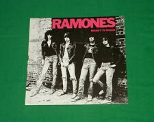 THE RAMONES Rocket To Russia PUNK NEW WAVE German LP 1977