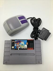 Mario Paint (Super Nintendo Entertainment System, 1992) with Mouse