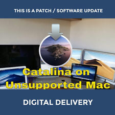 Install macOS Catalina on your Unsupported Mac MacBook iMac Old Macintosh Apple