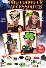 Halloween Party Foto Verkleidung Grusel Photo Booth Props Selfie Scherzartikel