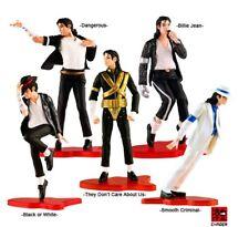 """Michael Jackson 5 pcs Figures set """"Billie Jean"""" Dangerous"""" Model Toy Dolls NIB"""