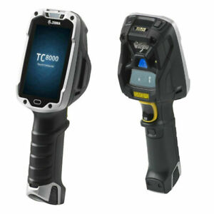 Zebra TC8000 Standard, 2D, ER, BT, WLAN, Disp.,  Android