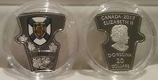 1867-2017 Nova Scotia $20 1OZ Pure Silver Proof Canada Puzzle Piece Coin