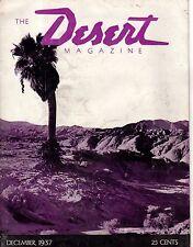 1937 Desert December - 2nd Issue- Lake Mead; Indio Mud Hills; Shiprock; Hopi