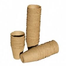 Vaso torba tondo 8cm biodegradabile 24pz bundled peat round pot jiffy pot