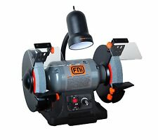 FNi Bench Grinder 550W 200mm Variable Speed Worklight