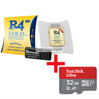 Brand New 2020 R4 Gold Pro SDHC 2ds 3ds NDS NDSI NDSL game card + 32g SD card