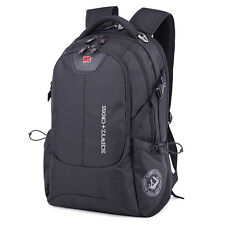 "SwissGear Cross 17"" Laptop Notebook Bag Travel Backpack School Bookbag Rucksack"
