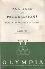 Analyses et Progressions Sauts avec Rotation - Gabriel Nijs BATTUE CARPES VOLTES