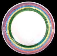 * Set of 6 * Caleca MEADOW -- Dinner Plates Plate Set