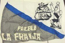 """Puebla F.C. La Franja Los Camotero Mexico Futbol Soccer Flag Banner 35""""x52"""" New"""