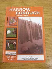21/01/2003 grada Borough V Lewes [Bryco Liga Copa]. gracias por ver nuestra que