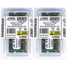 2GB KIT 2 x 1GB Toshiba Tecra A3X-165 A3X-166 A3X-167 A4-00X009GR Ram Memory