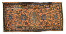 Handmade - Malayer - Circa 1880 - 7' x 4' Antique Rug carpet Free Shipping
