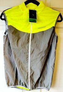 ROCKBROS Reflective Vest Men Women Cycling Safety Vest Breathable Sleevele Sz M