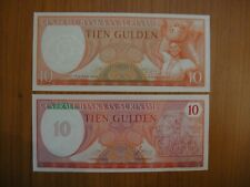 Lot de 2 billets Suriname, Surinam