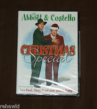 The ABBOTT & COSTELLO CHRISTMAS SPECIAL (DVD) *BRAND NEW*