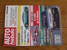 $$$ Revue Auto Hebdo N°665 Daytona 500ProstF1 HondaAudi 90 IMSA GTO