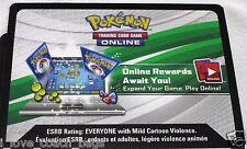 "1 x Pokemon Reshiram EX BW36  "" Tin"" Code Cards TCGO (Unused)"