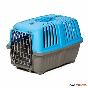 """Dog Cat Pet Carrier Small Breeds 19"""" Crate Kennel Ventilated Transport Travel US"""