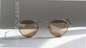 Oliver Peoples Tillie Prototype col BR size 41-23 Caviar Flash Mirror w/ Case
