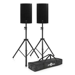 Black Mackie Thump 12A PA Speaker Bundle