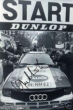 "World Rally Championship Driver Hannu Mikkola Hand Signed Photo 12x8""  AC"