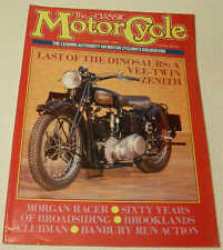 Classic MC 8/88 SOS, Speedway, Morgan, Edmond Tubb, Marks, Zenith, 1924 BSA ohv