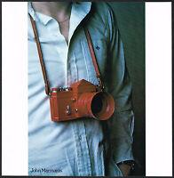 1970s Original Vintage John Marmaras Photographer Camera Photo Print AD