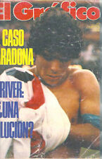 DIEGO MARADONA in BARCELONA FUTBOL CLUB Magazine Argentina 1980