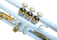 NEW WHITE BAND TRUMPET W/CASE.5 YEARS WARRANTY.