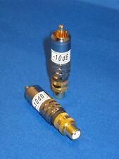 GOLDENJACKS audio attenuator for optimal sound - 2 attenuators supplied