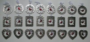 FQ ALWAYS IN MY HEART CARDINAL CHARM ORNAMENT inspirational love memorial ganz