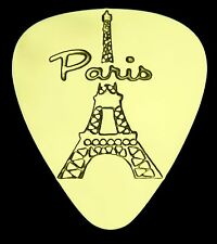 PARIS - EIFFEL TOWER -Solid Brass Guitar Pick,Acoustic,Electric,Mandolin,Bass