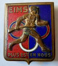 Insigne EIMS ECOLE INSTRUCTION MILITAIRE et SPORTIVE PAU ORIGINAL Drago béranger