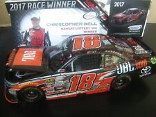 Christopher Bell 2017 JBL Camry KANSAS RACED FIRST WIN 1/24 NASCAR