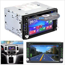 "6.2"" 2Din HD 16:9 Bluetooth Car SUV 7 Colors GPS Navigation Stereo DVD CD Player"