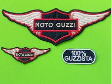 MOTO GUZZI KIT AQUILA PATCH TOPPE RICAMATE TERMOADESIVE