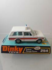 DINKY 254 POLICE RANGE ROVER           P/30