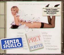 """THE ORIGINAL SOUNDTRACK """" PRET A PORTER """" CD NUOVO 1994"""