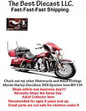Maisto Harley-Davidson 2013 FLHTK Electra Glide Ultra Limited 1:18 Red