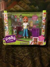 Mattel Polly Pocket Designables Electronics Shop MIB 2008