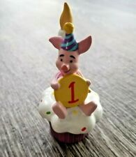Enesco POOH And FRIENDS 1st Birthday PIGLET Cupcake # 4010012