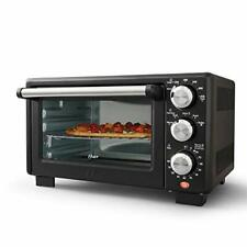 Convection 4 Slice Toaster Oven Matte Black Convection Oven And Countertop
