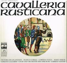 Mascagni: Cavalleria Rusticana / Santini, Corelli, De Los Angeles - LP Emi