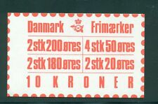 Denmark 1982 10 Kr Booklet Facit H49 print 24