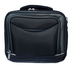 "Black Laptop Carry Case Netbook Tablet Notebook Padded Shoulder Bag 10 "" Black"